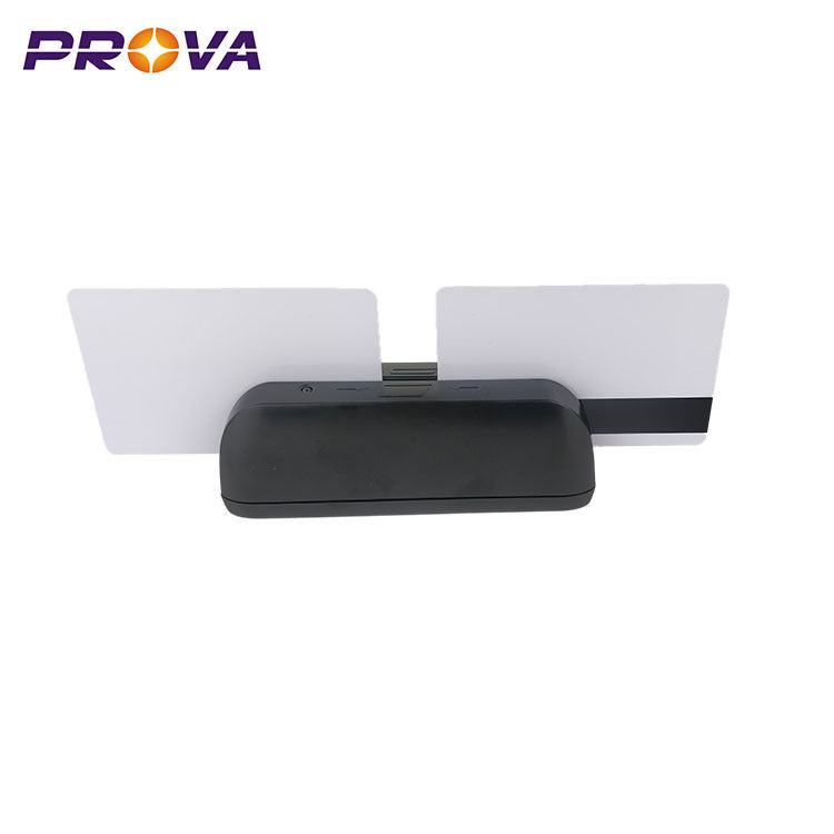 Dual Heads MSR Magnetic Card Reader For Shopping Mall / Supermarket